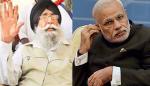 Simranjeet Singh Mann (L), Narendra Modi (R) [FIle Photos]