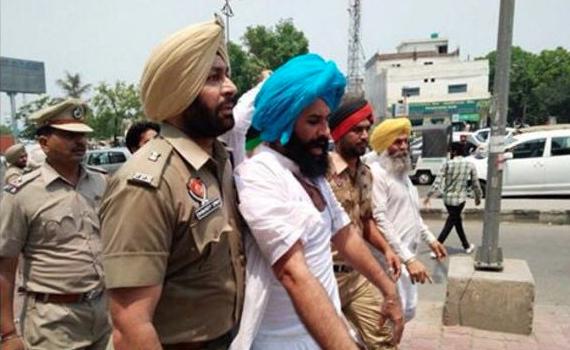 Simarjit Bains taken into custody by Ludhiana police