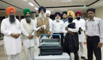 Simranjeet Singh Mann leaves for UK