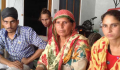 Sukhwant Kaur, whose brothers-in-law were among 28 beaten up in jail, with family | Photo Credits: The Tribune