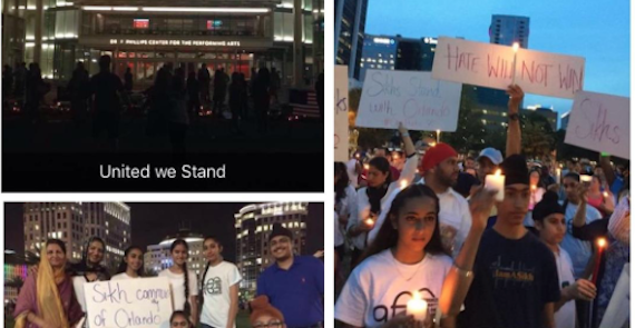 American Sikh Community Offers Help and Stands in Solidarity With the Victims of the Orlando Shooting