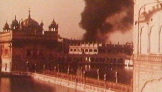Attack on Darbar Sahib by Indian Army in June 1984 [File Photo]