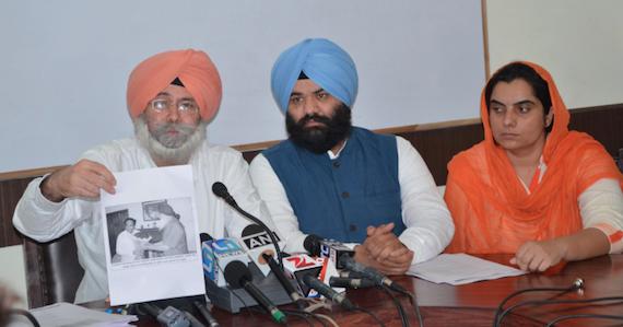 HS Phoolka, Himmat Singh Shergill and Prof. Baljinder Kaur