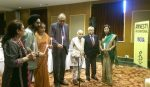 Insaaf1984 Justice Sachar, Justice Katju and Justice Anil Dev Singh light the candle of Hope for the survivors of 1984
