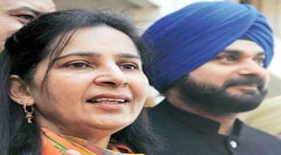 Dr. Navjot Kaur Sidhu and Navjot Sidhu [File Photo]