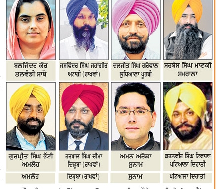 Candidates who got Aam Aadmi Party tickets (in 2nd list) for Punjab Polls 2017