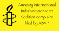 Sedition Case Amnesty International India's response to complaint filed by ABVP