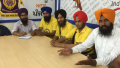Sikh Youth of Punjab leaders addressing media persons