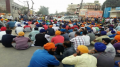 a-view-of-dharna-by-sikh-sangat-in-jalandhar