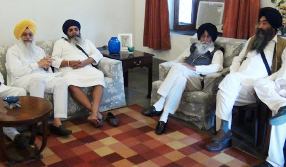 Left to Right: Gurdeep Singh Bathinda, Mohkam Singh, Simranjeet SIngh Mann and Jaskaran Singh