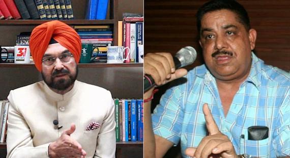 Kanwar Sandhu (L) | Gurmeet Pinky (R) [File Photos]