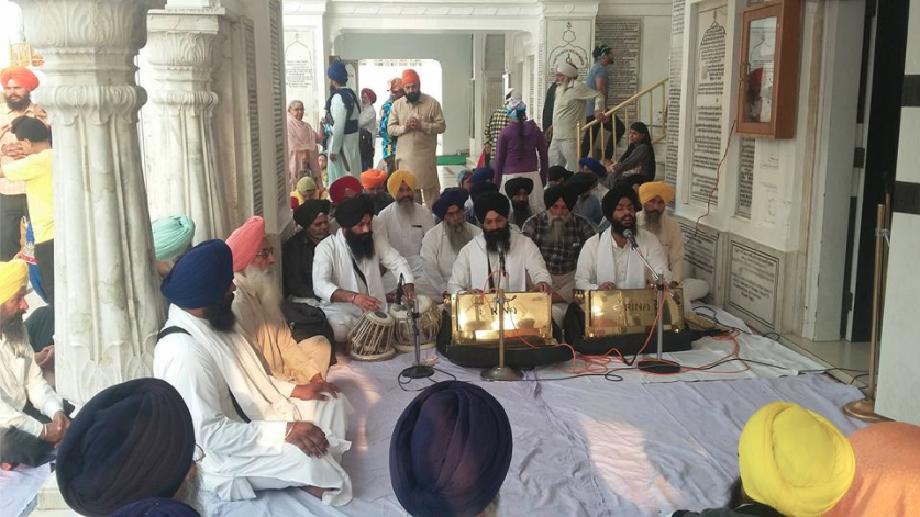 Another view of Shaheedi Samagam in the memory of Bhai Beant Singh at Akal Takht Sahib [October 31, 2016]