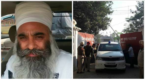 Harminder Singh Mintoo (L), A view of Nabha Jail's gate [File Photos]