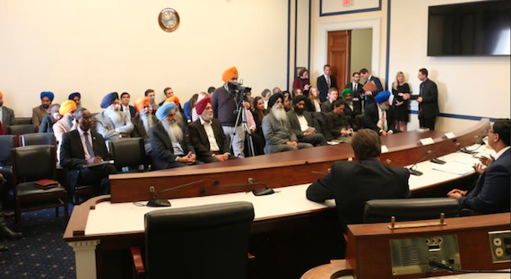 Human Rights Issues Discussed at US Congressional Briefing | A view of the event