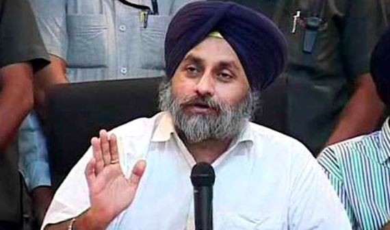 Sukhbir Badal [File Photo]