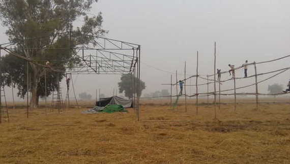 Tents were removed from the venue of November 10, 2016 Sikh gathering under directions of the Punjab government [November 6, 2016]