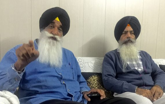 From left Harpal Singh Cheema & Kawarpal Singh  [File Photo]