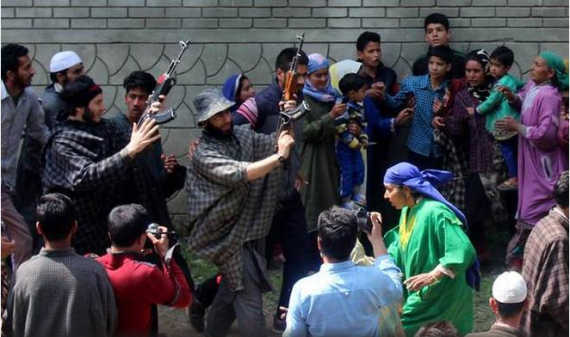 Five killed in latest Kashmir violence