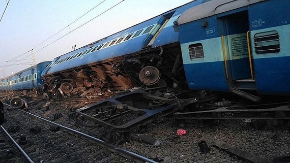 UP CM Yogi Adityanath expresses grief over train accident deaths