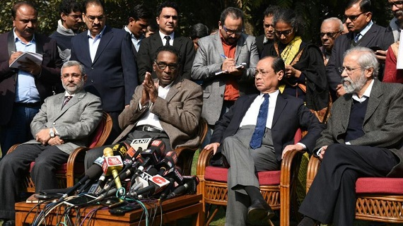 CJI Dipak Misra meets dissenting judges