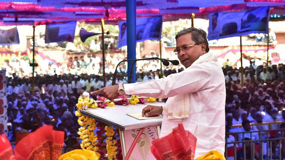 Siddaramaiah calls himself as 'humane Hindu', criticises BJP