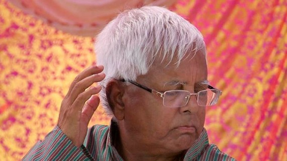 Three and a half year in jail for Lalu Prasad Yadav