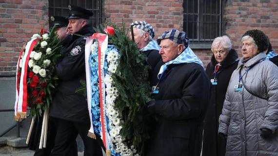 Survivors Return to Auschwitz for Marking 75th Anniversary of Holocaust