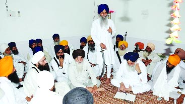 A view of meeting of Sikh bodies at Bathinda (September 04, 2013)