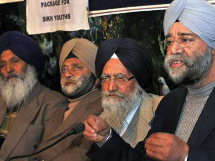 All Party Sikh Coordination Committee (APSCC) addressing the press [File Photo]