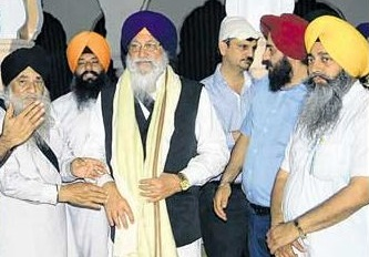 Avtar Singh Makkar and others at Nankana Sahib [May 20, 2014]