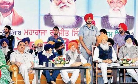 Badal equates his regime with Maharaja Ranjit Singh's rule