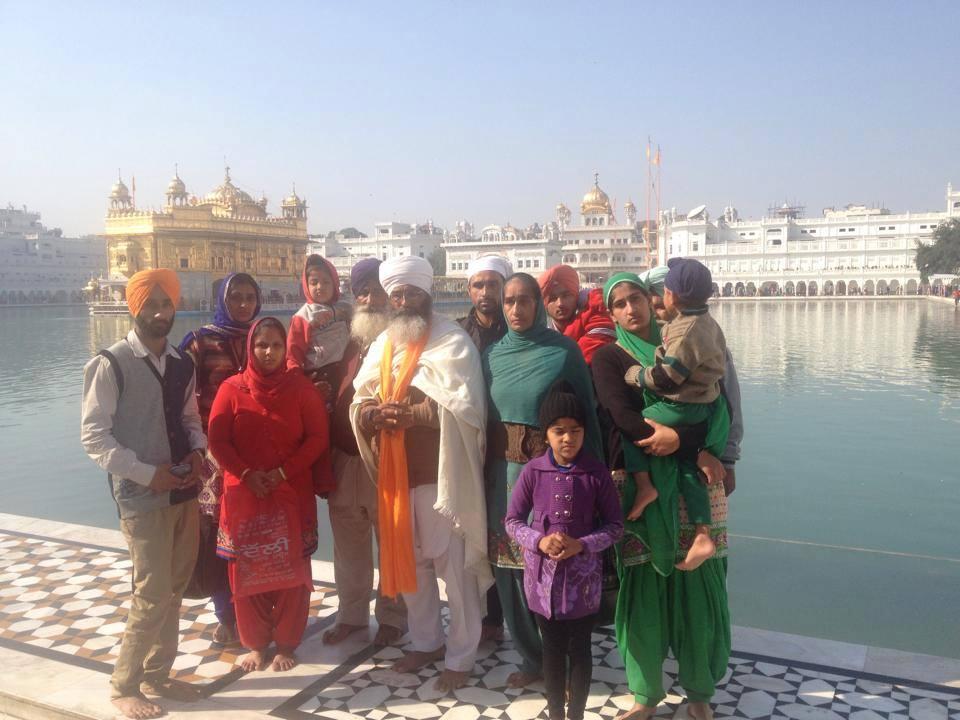 Bhai Shamsher Singh Shera visit Darbar Sahib Amritsar
