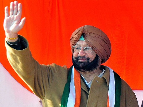 Captain Amrinder Singh - Congress Party leader and former Chief Minister of Punjab