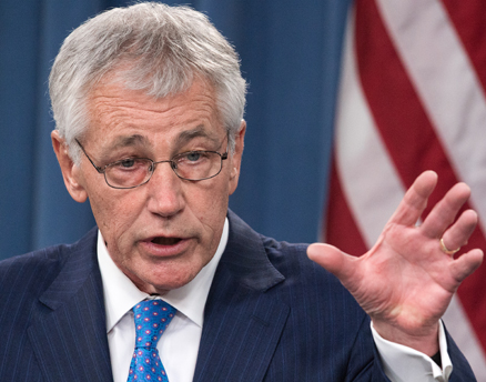 Chuck Hagel, Secretary of Defense [File Photo]