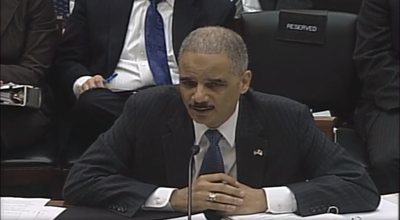 Eric Holder, US Attorney General