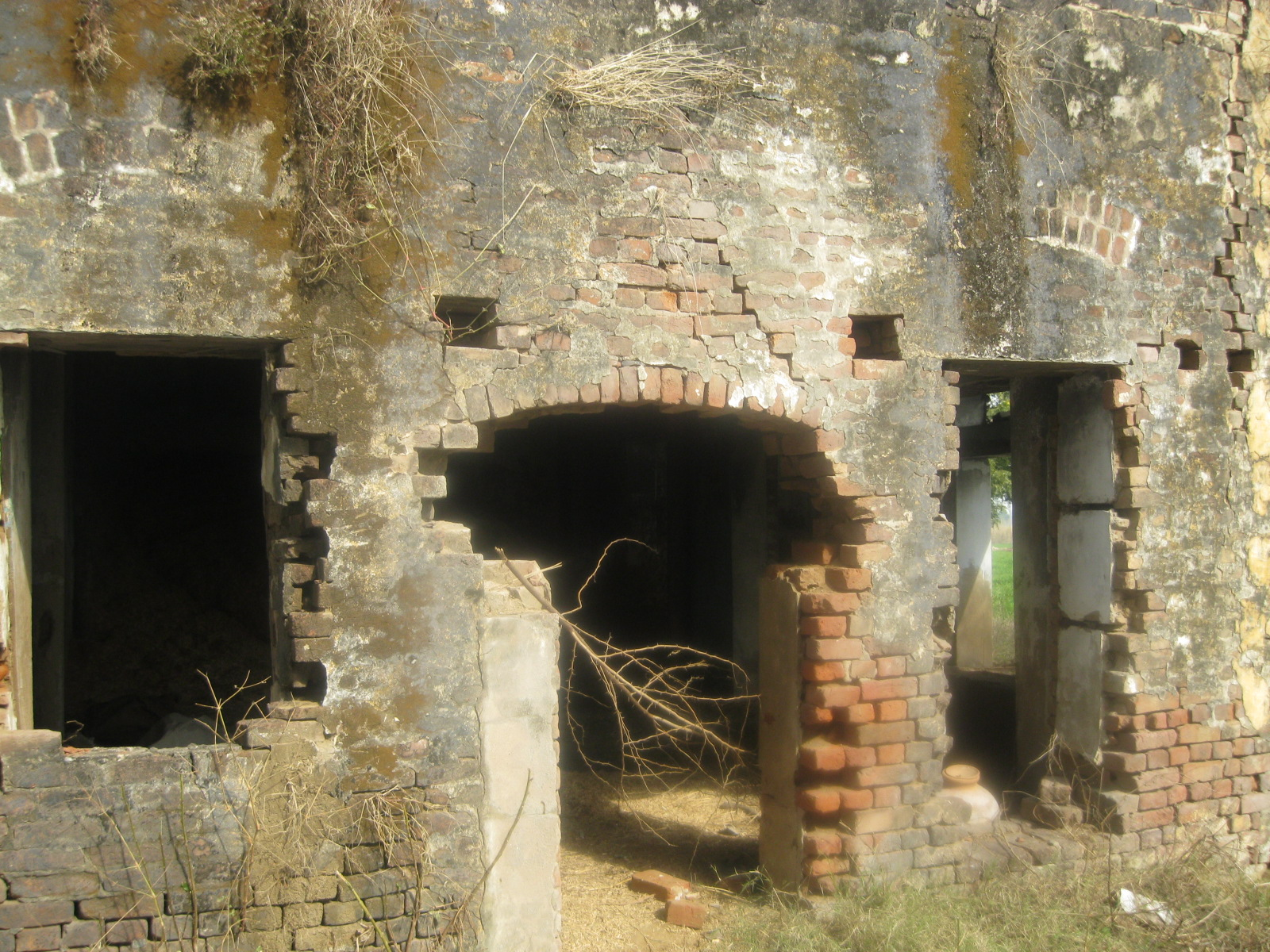 Ruins of Sikh Village Hondh Chillar, Haryana that was totally destroyed during Sikh Genocide 1984.