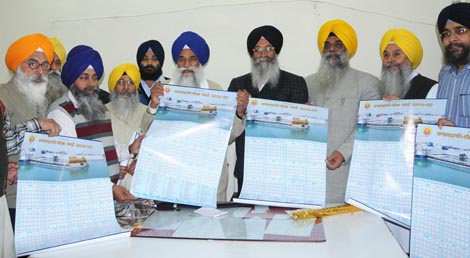 Giani Gurbachan Singh releases amended version Nanakshahi Calendar [File Photo].