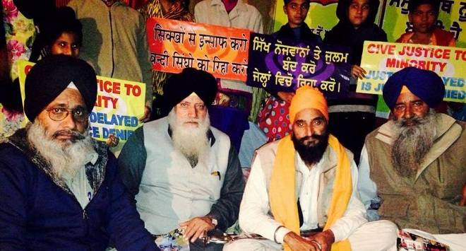 Gurbax Singh on hunger strike since November 14