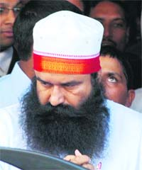 Dera Sirsa Head - Gurmeet Ram Rahim [ File Photo ]