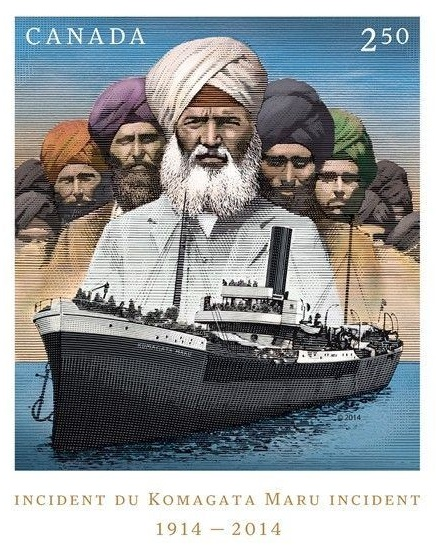 Incident Du Komagara Maru Incident 1914 - 2014