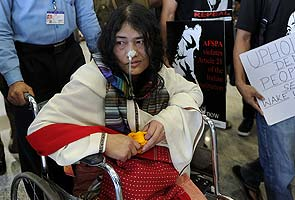 Irom Chanu Sharmila - the Iron Lady of Manipur [File Photo]