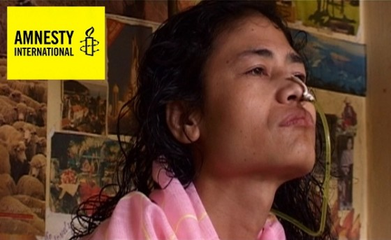 Amnesty India seeks release of Irom Sharmila