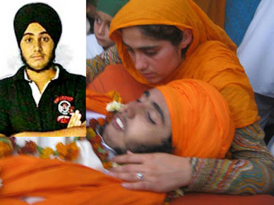 Engineering Student Jaspal Singh (Gurdaspur), who was shot dead by police at Gurdaspur on March 29, 2012