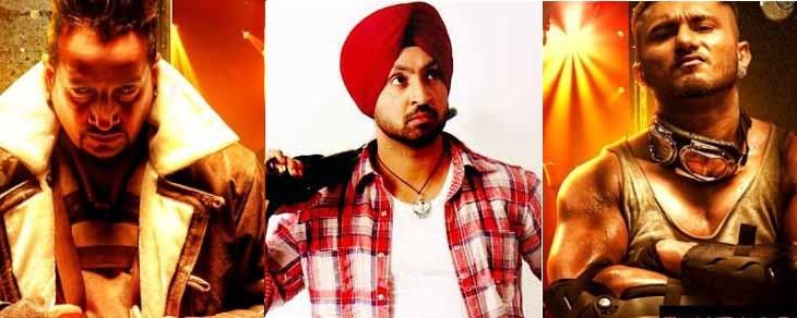 Diljit Dosanjh And Honey Singh Honey Singh  Diljit