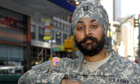 Kamaljeet Singh Kalsi was granted a religious accommodation by the US army in 2009