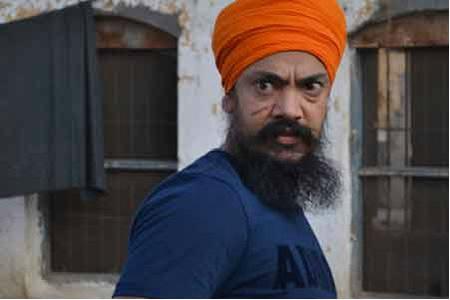 Punjab Film actor-cum-producer Kuljinder Sidhu as Kartar in Sadda Haq