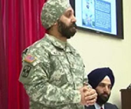 Major Kamaljeet Singh Kalsi Speaks at Congressional Briefing