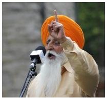 Manmohan Singh, Dal Khalsa UK