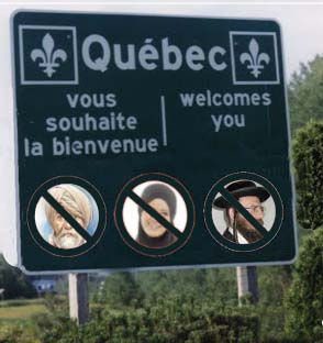 Quebec bans religious symbols