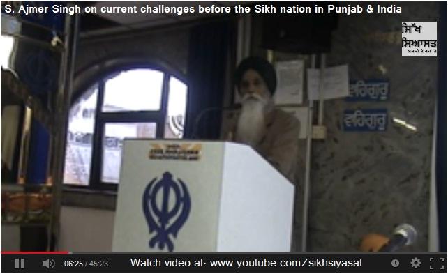 Sikh Scholar S. Ajmer Singh
